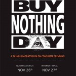 Buy Nothing Day Poster