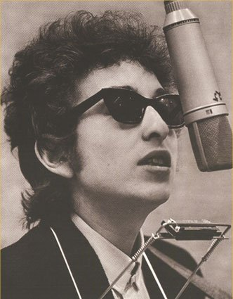 Maybe if you listen to some Bob Dylan you'll mellow out about preparing for emergencies. Image: bobdylan.com.
