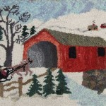 Vintage-Hooked-Rug-Christmas1951-Pearl-M-McGown