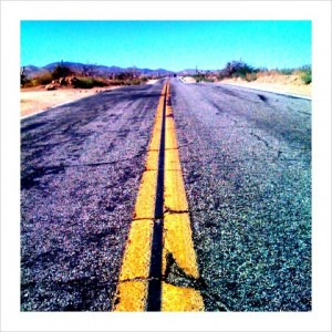 A dry and cracked road ahead if we refuse to take action on climate change. Phot