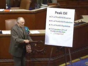 Roscoe Bartlett speaking to the House on peak oil.
