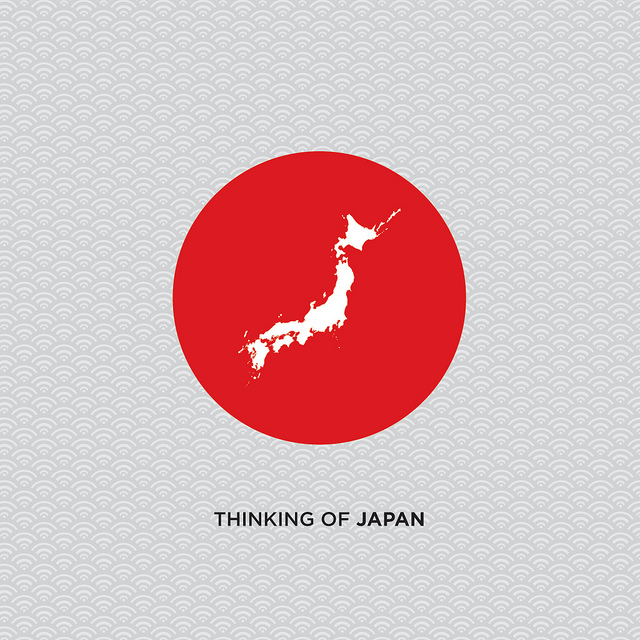 thinking of Japan poster