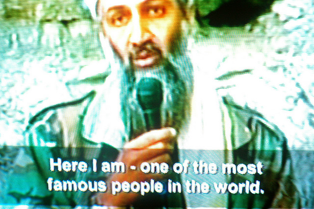 Osama bin Laden TV screenshot