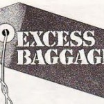 Excess baggage tag