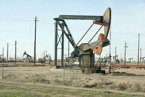 Dying oil fields and pump jack carcasses. Photo: David~O via Flickr.
