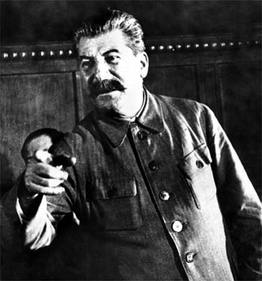 Joe Stalin liked his farms big and mechanized.