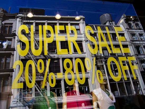 super sale sign