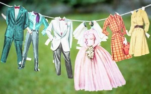 Make a clothesline and post it in a store front to encourage line drying.
