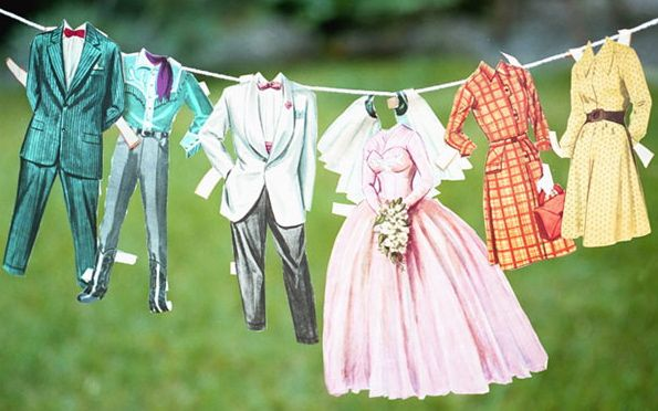 vintage-paperdoll-clothes-line-wedding-ideas-escort-cards1 ...